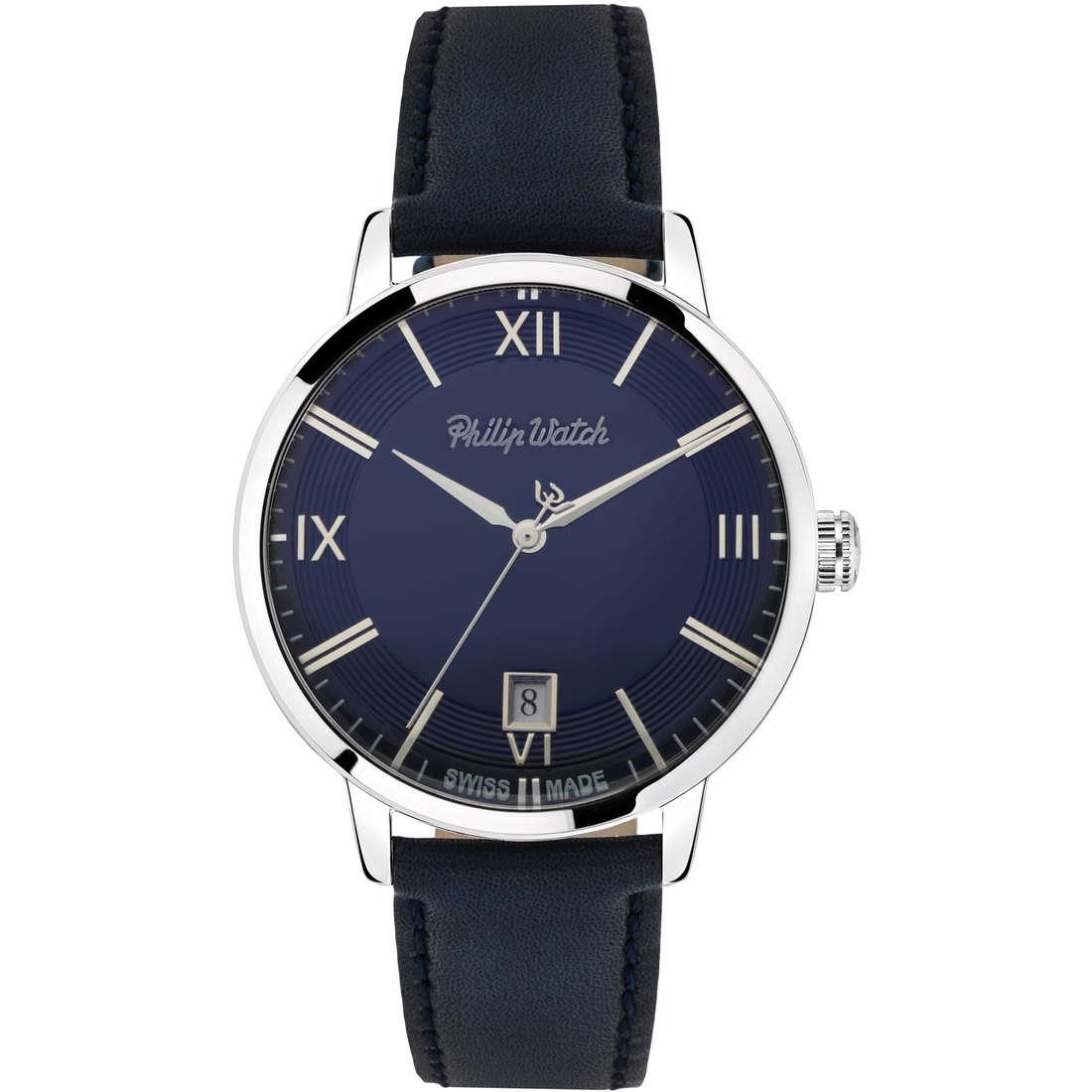 orologio solo tempo uomo Philip Watch Grand Archive R8251598007