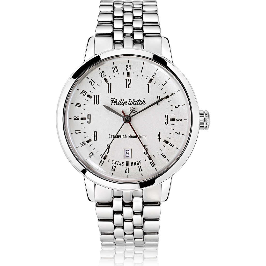 orologio solo tempo uomo Philip Watch Grand Archive R8253598002