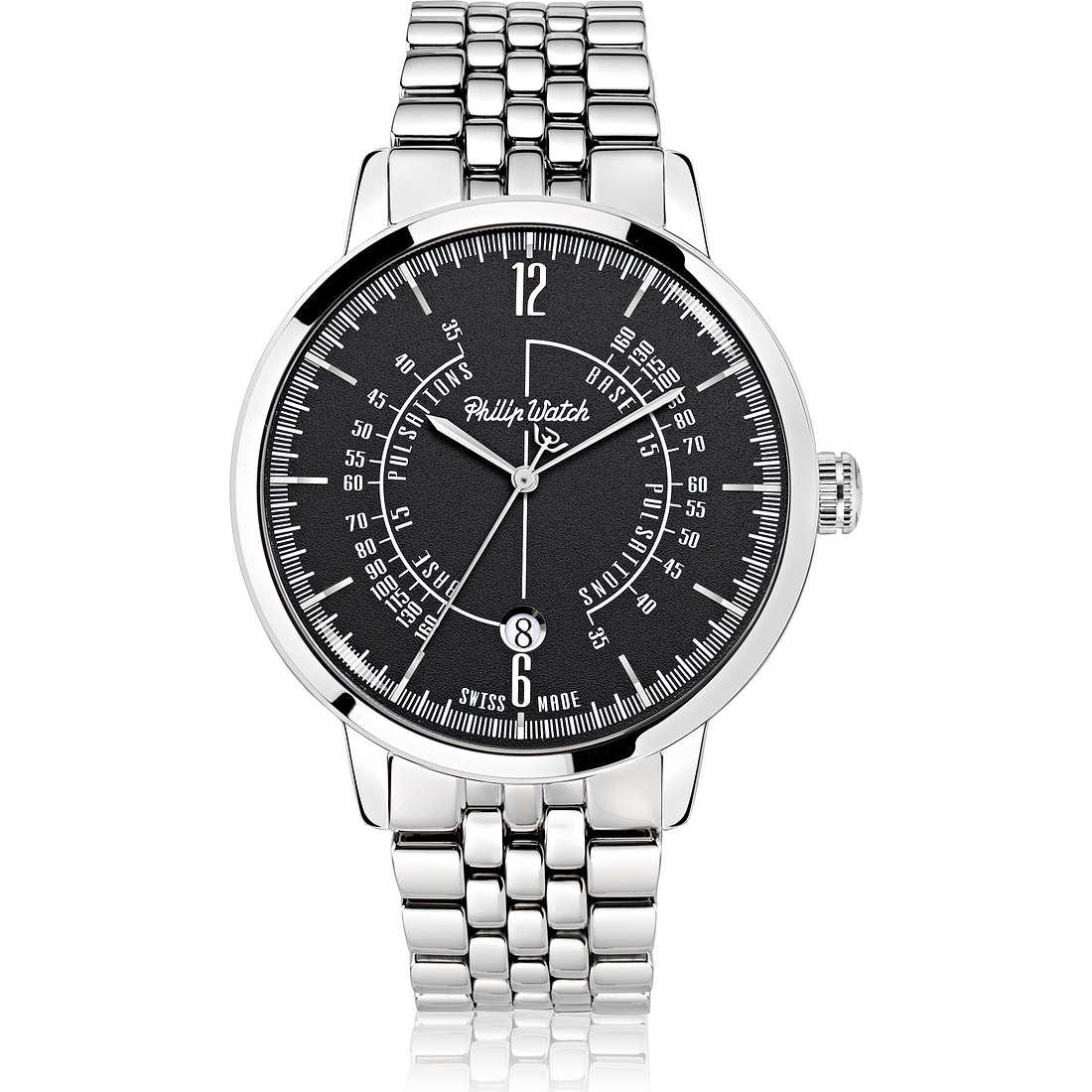 orologio solo tempo uomo Philip Watch Grand Archive R8253598003