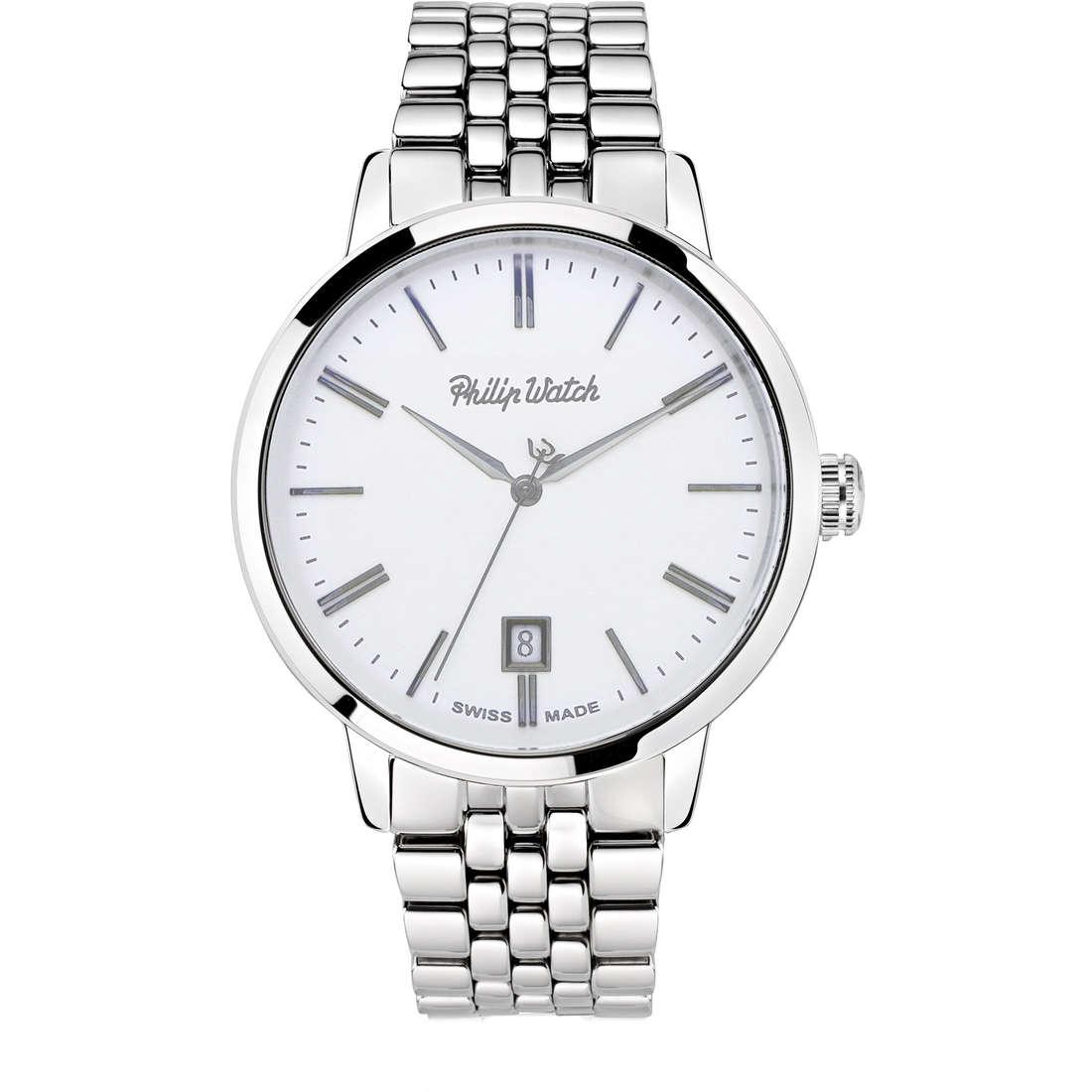 orologio solo tempo uomo Philip Watch Grand Archive R8253598004