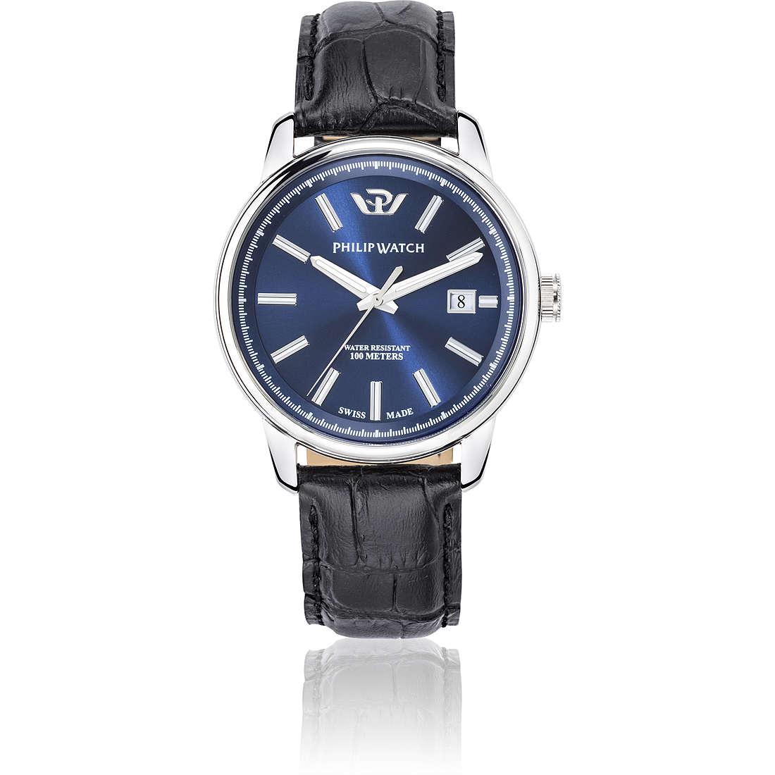orologio solo tempo uomo Philip Watch Kent R8271178008