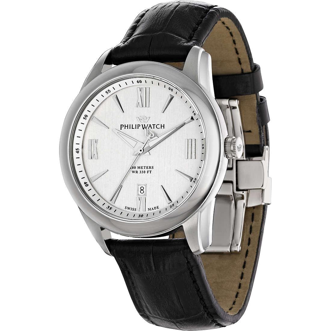 orologio solo tempo uomo Philip Watch Seahorse R8251196002