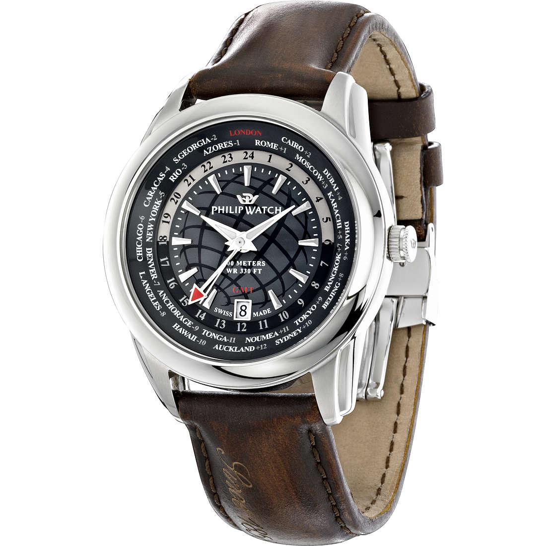 orologio solo tempo uomo Philip Watch Seahorse R8251196006