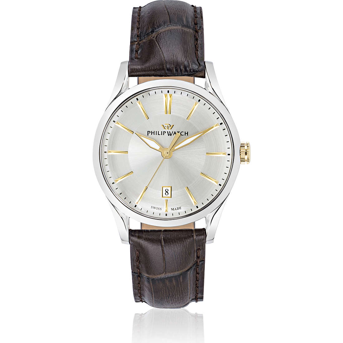 orologio solo tempo uomo Philip Watch Sunray R8251180004