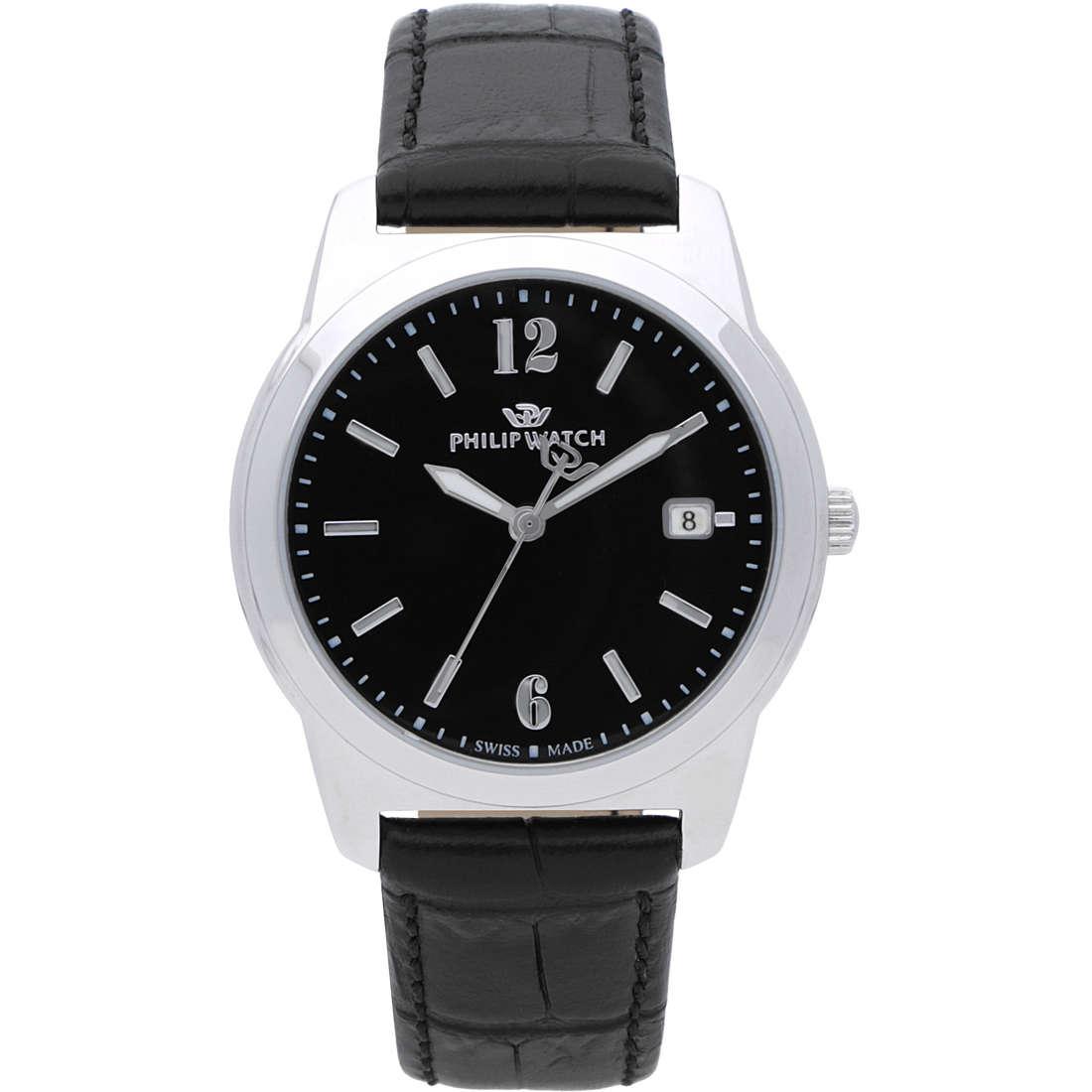 orologio solo tempo uomo Philip Watch Timeless R8251495001