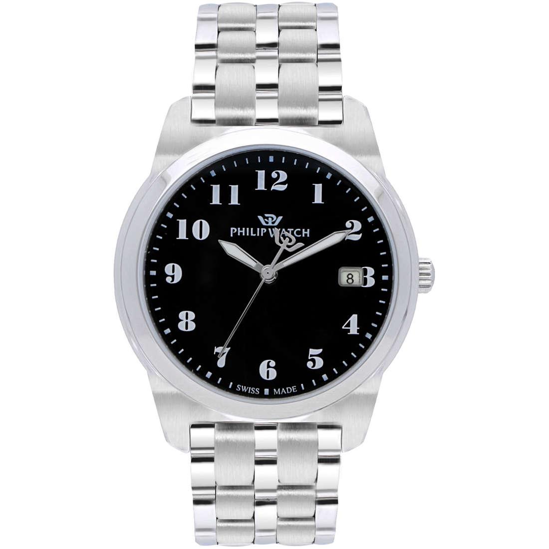 orologio solo tempo uomo Philip Watch Timeless R8253495001
