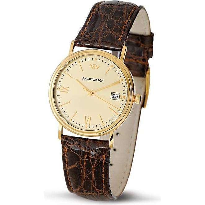 orologio solo tempo uomo Philip Watch Velvet R8051180025