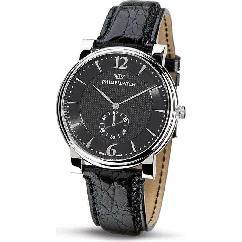orologio solo tempo uomo Philip Watch Wales R8251193025