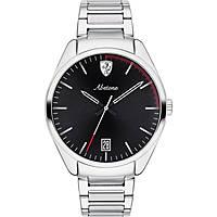 orologio solo tempo uomo Scuderia Ferrari Abetone FER0830502