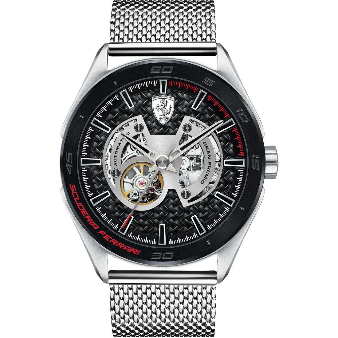 orologio solo tempo uomo Scuderia Ferrari Gran Premio FER0830349