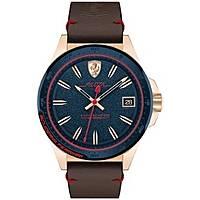 orologio solo tempo uomo Scuderia Ferrari Pilota FER0830461
