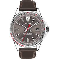 orologio solo tempo uomo Scuderia Ferrari Pilota FER0830488