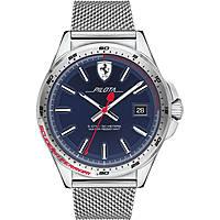 orologio solo tempo uomo Scuderia Ferrari Pilota FER0830491