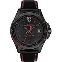 orologio solo tempo uomo Scuderia Ferrari Pilota FER0830497