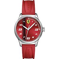orologio solo tempo uomo Scuderia Ferrari Pitlane FER0810014