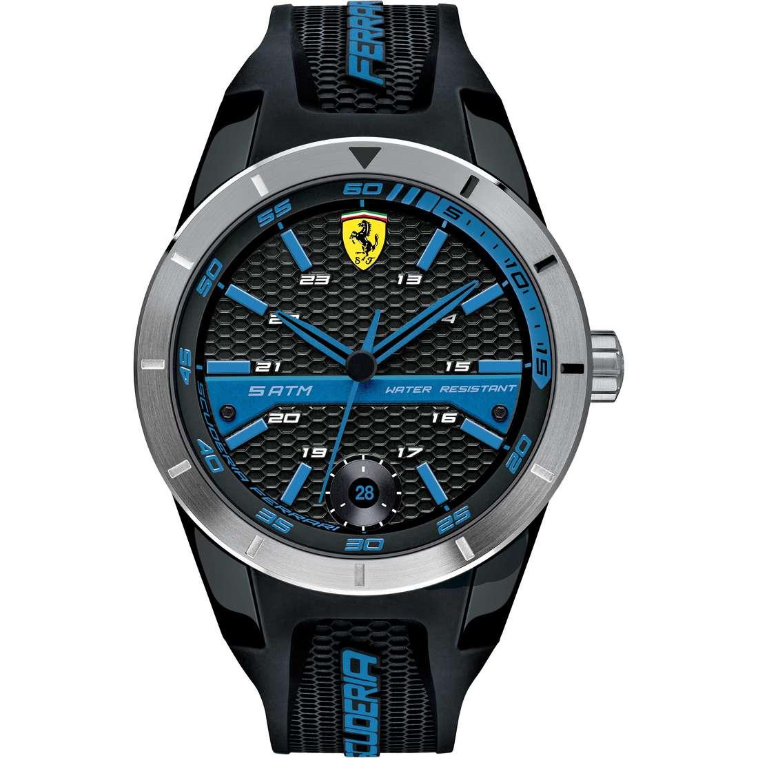 orologio solo tempo uomo Scuderia Ferrari Red FER0830252