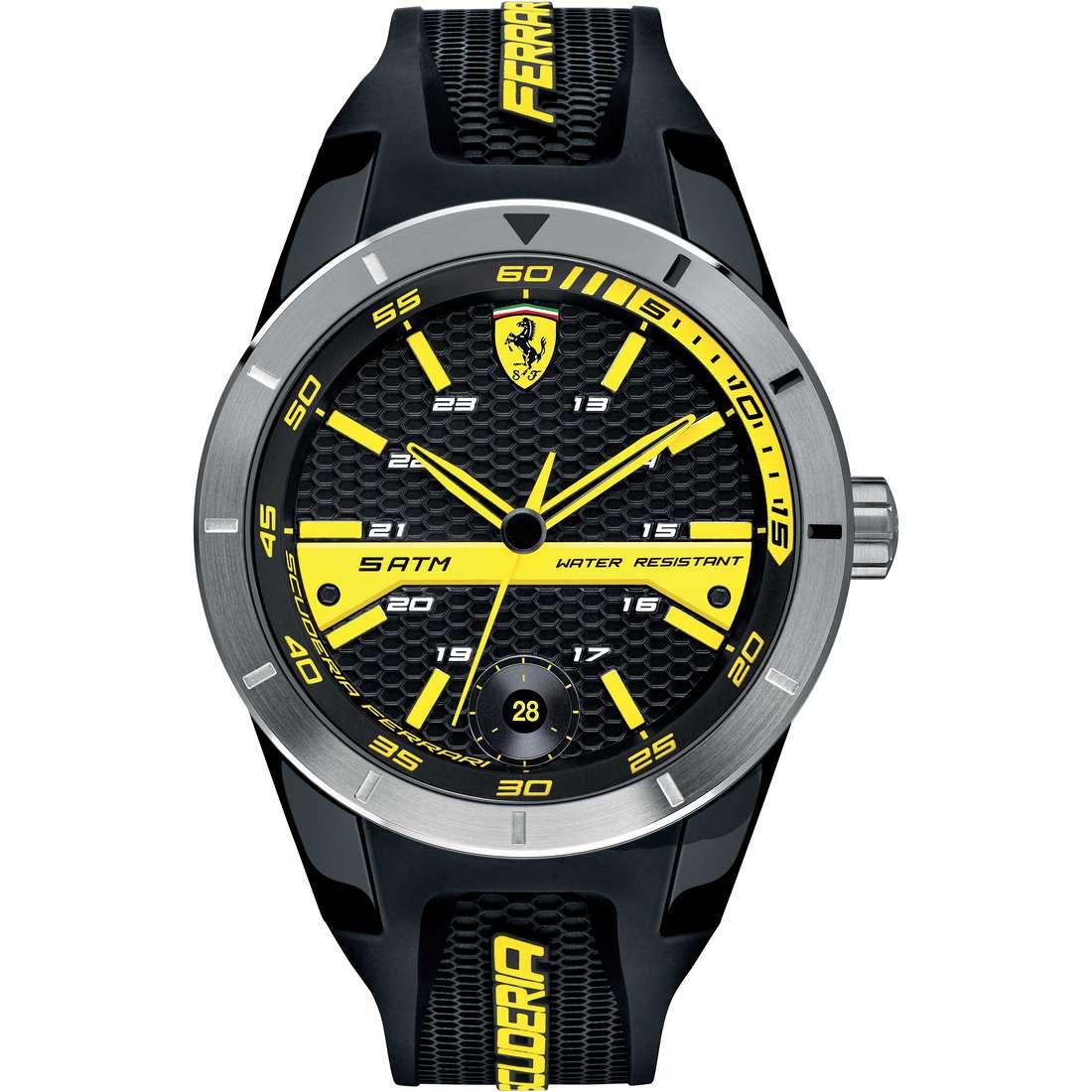 orologio solo tempo uomo Scuderia Ferrari Red FER0830277