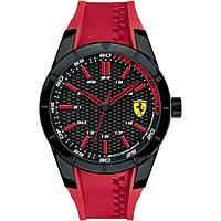 orologio solo tempo uomo Scuderia Ferrari Red FER0830299