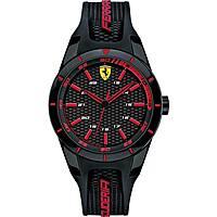 orologio solo tempo uomo Scuderia Ferrari Red FER0840004