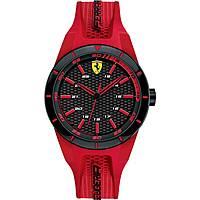 orologio solo tempo uomo Scuderia Ferrari Red FER0840005