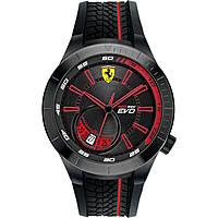 orologio solo tempo uomo Scuderia Ferrari Redrev Evo FER0830339
