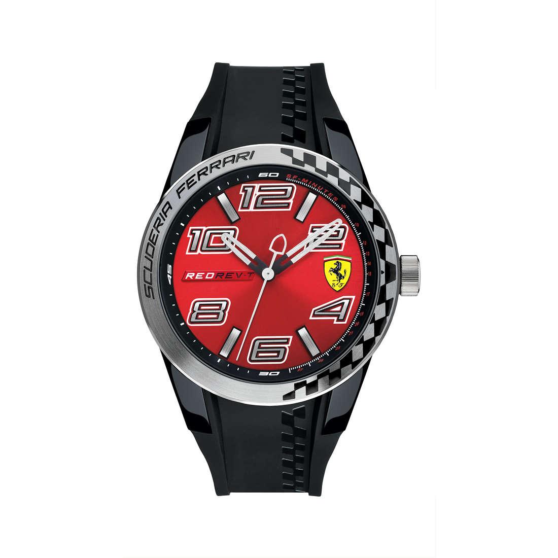 orologio solo tempo uomo Scuderia Ferrari Redrev FER0830335