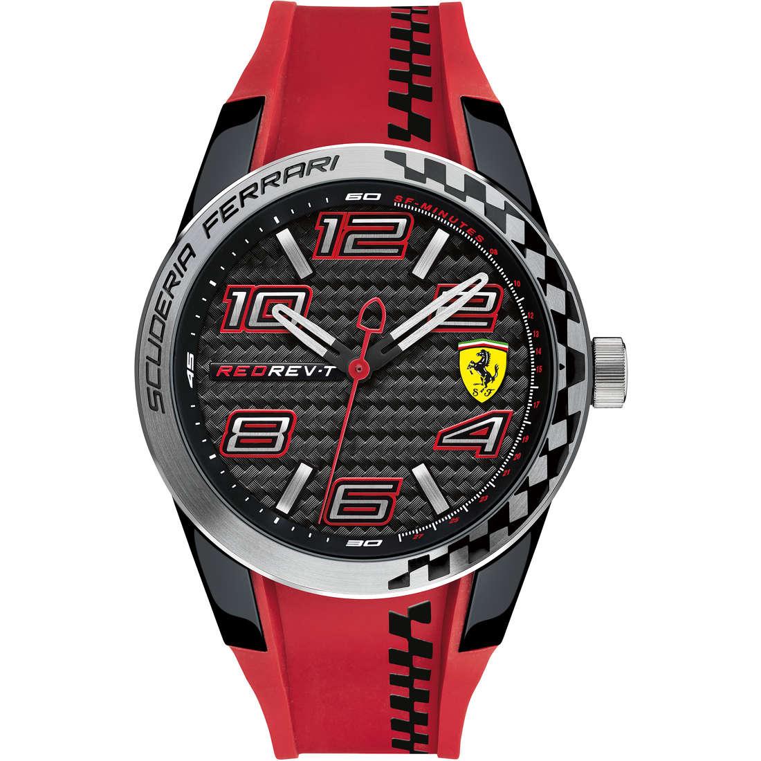 orologio solo tempo uomo Scuderia Ferrari Redrev FER0830338