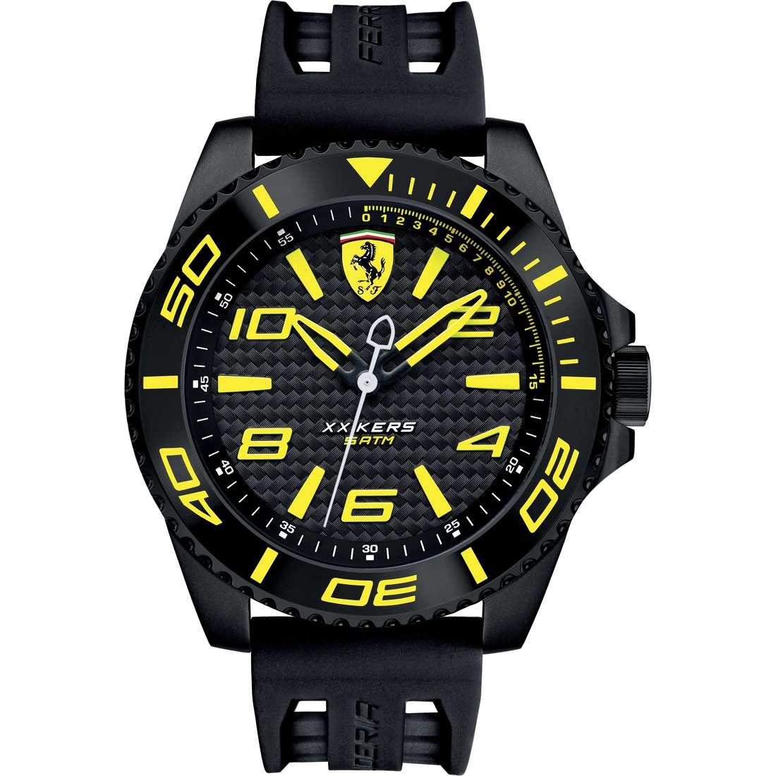 orologio solo tempo uomo Scuderia Ferrari Xx Kers FER0830307