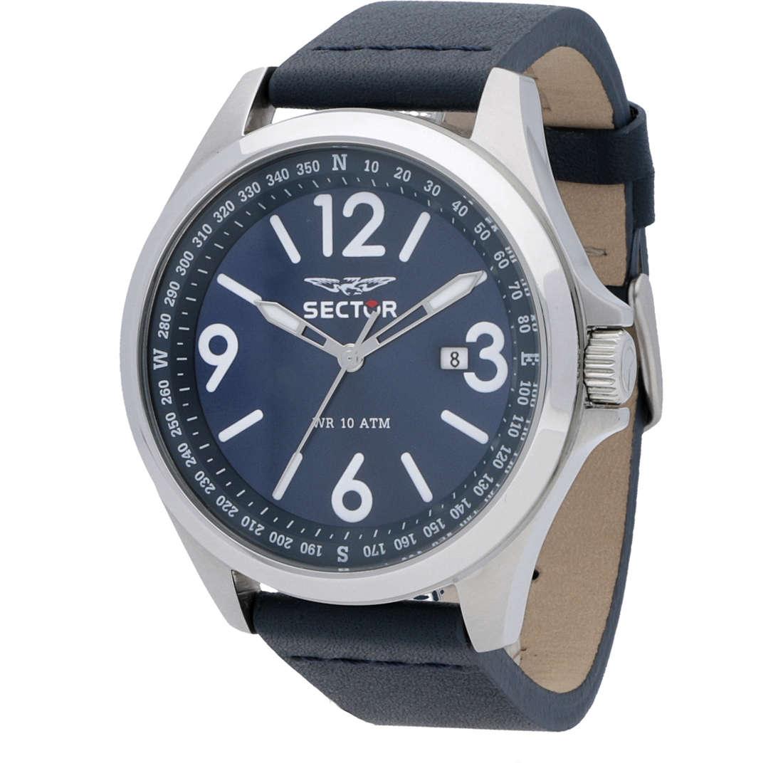 orologio solo tempo uomo Sector 180 R3251180017