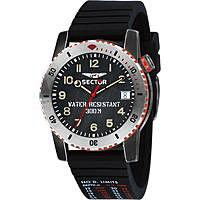 orologio solo tempo uomo Sector Dive 300 R3251598001
