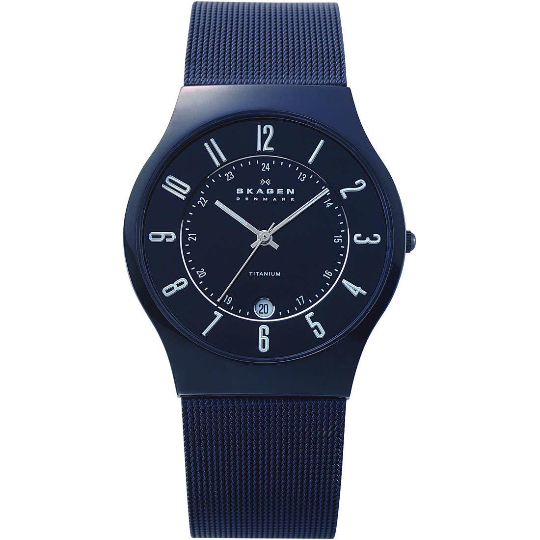 orologio solo tempo uomo Skagen 233XLTMB