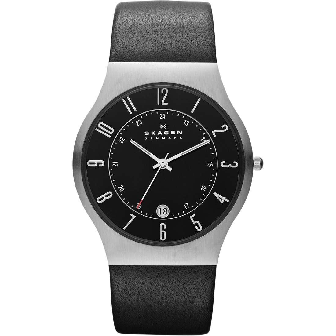 orologio solo tempo uomo Skagen 233XXLSLB