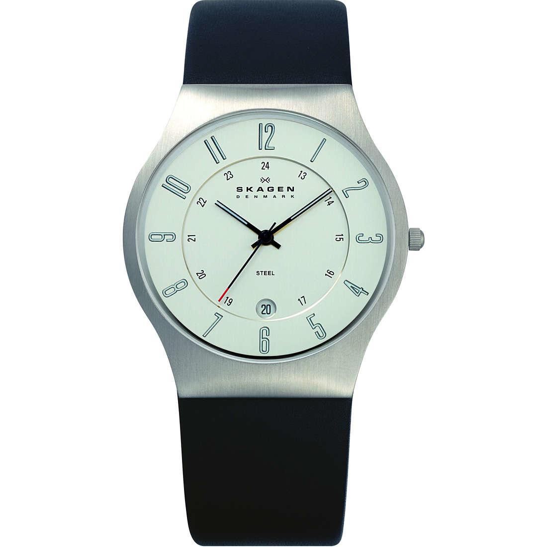 orologio solo tempo uomo Skagen 233XXLSLC