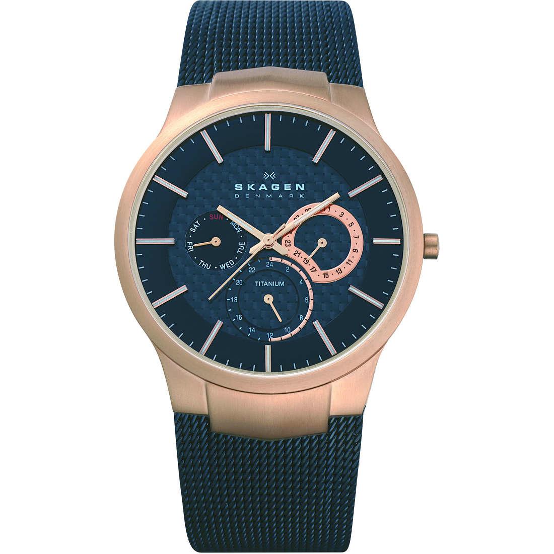 orologio solo tempo uomo Skagen 809XLTRB