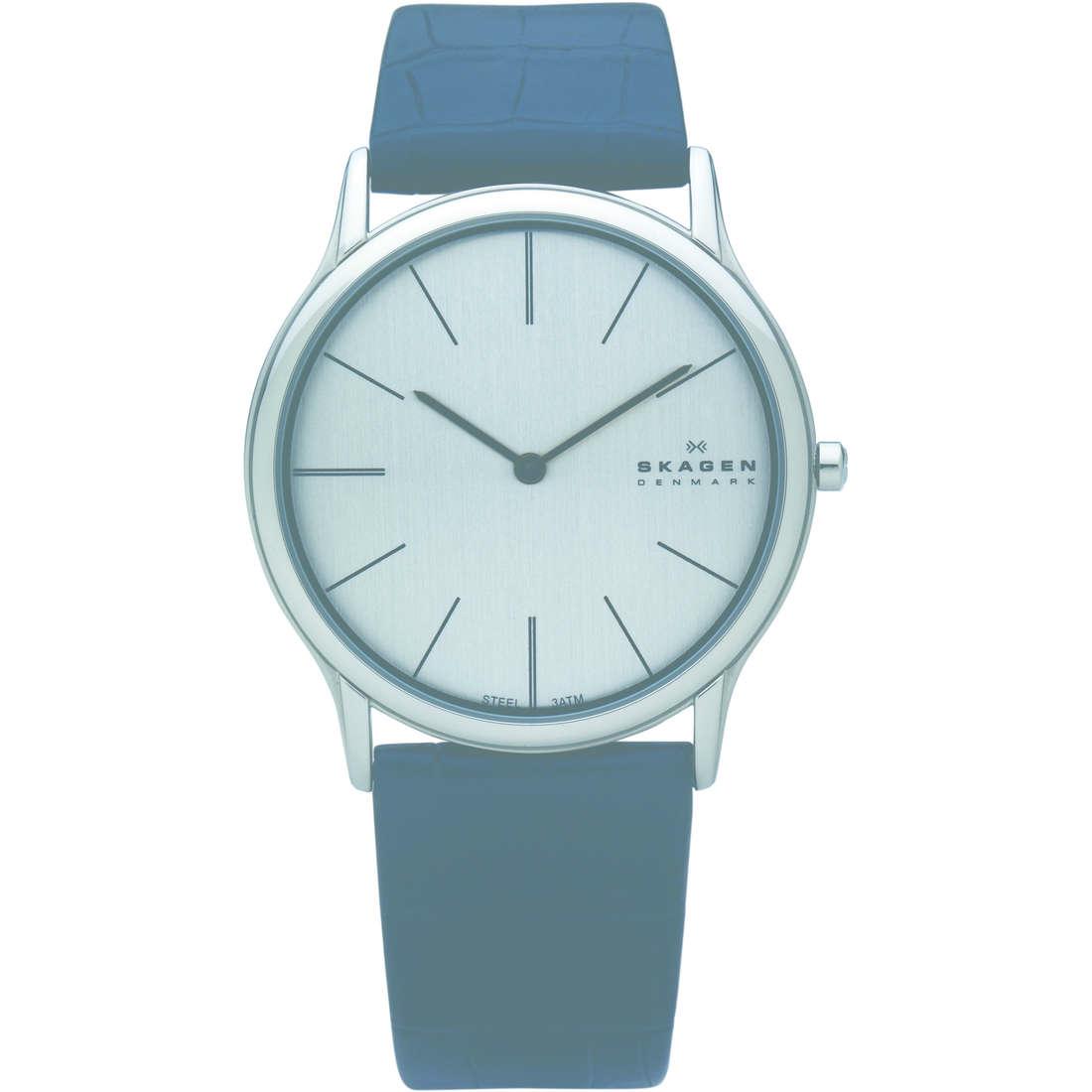orologio solo tempo uomo Skagen 858XLSLB