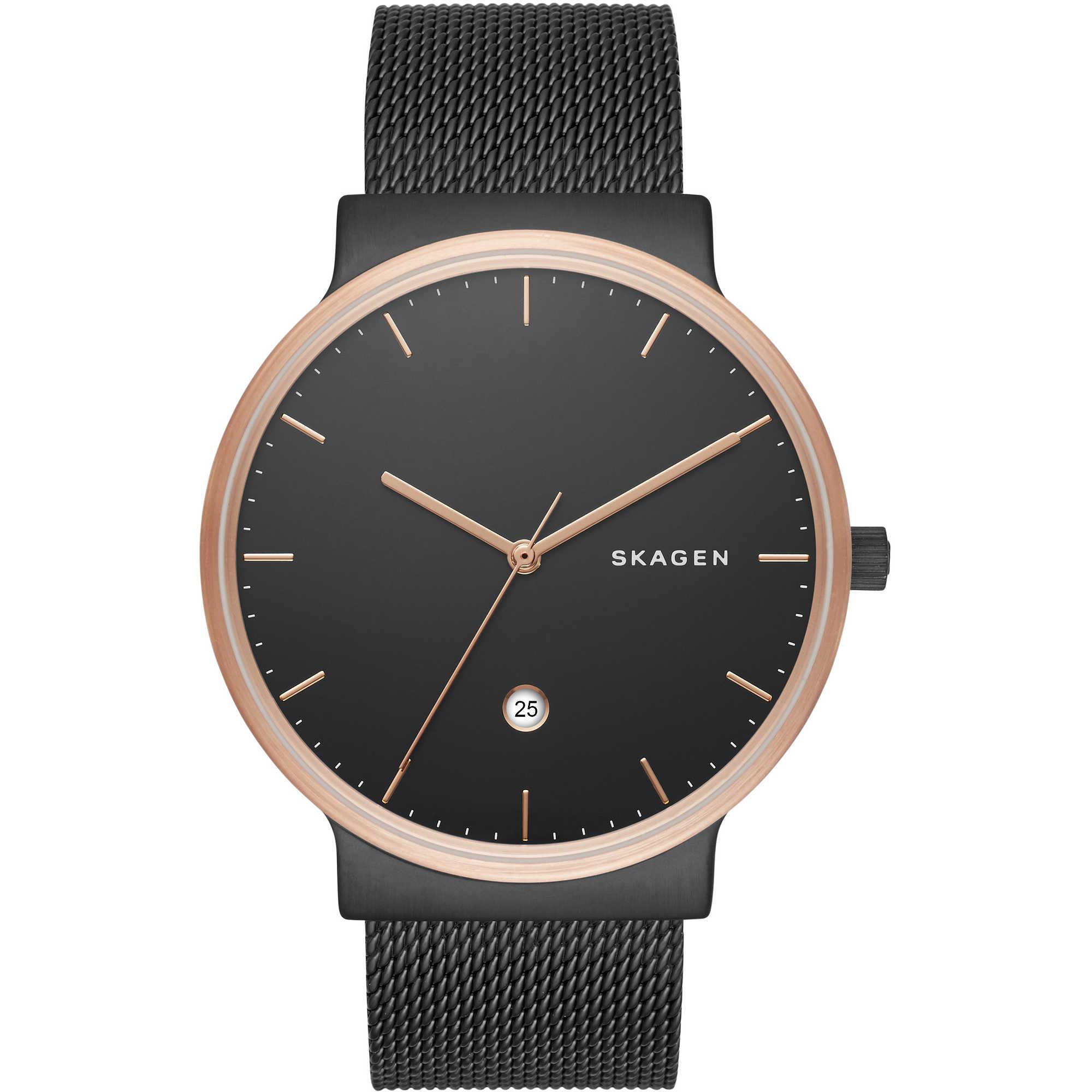 nuovo stile 6ce72 a5d5c orologio solo tempo uomo Skagen SKW6296