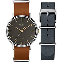 orologio solo tempo uomo Timex Fairfield Box Set TWG016500