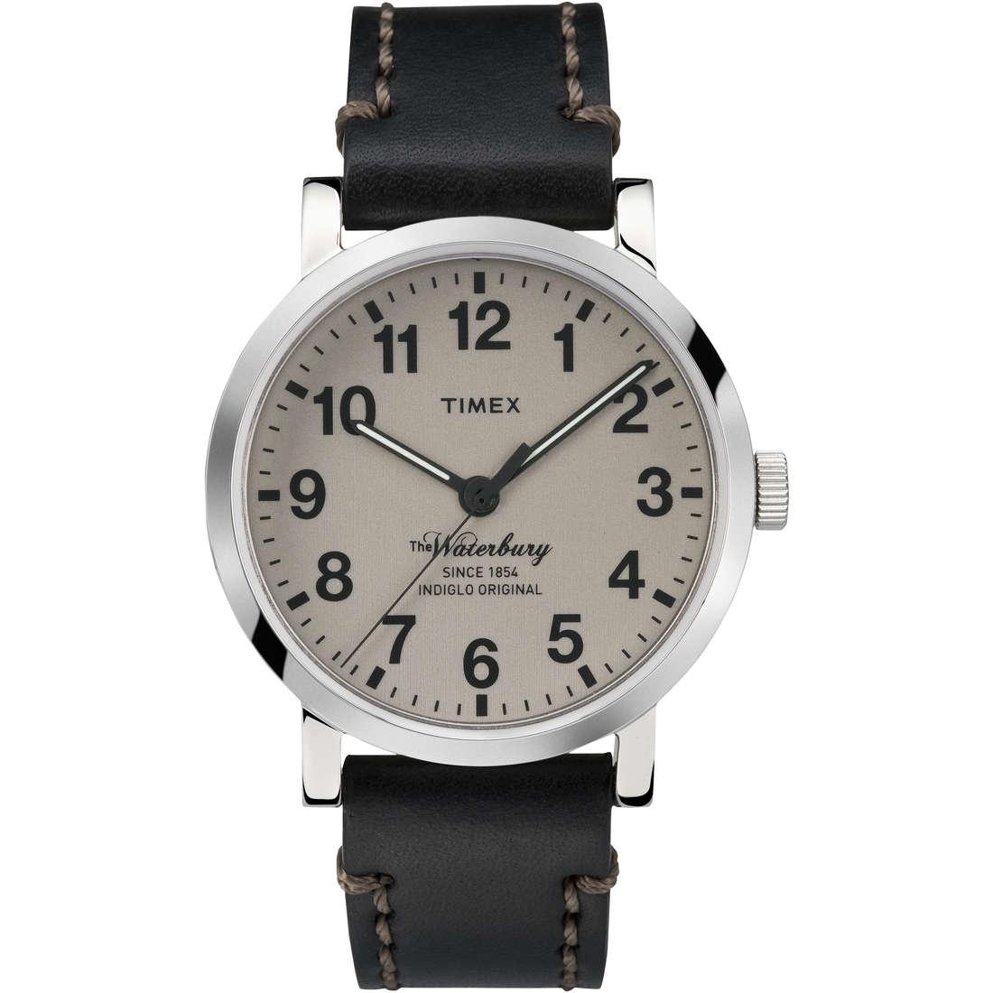 orologio solo tempo uomo Timex Waterbury Collection TW2P58800