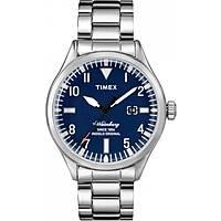 orologio solo tempo uomo Timex Waterbury Collection TW2P64500BR