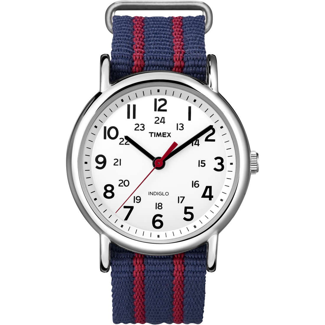 orologio solo tempo uomo Timex Weekender T2N747