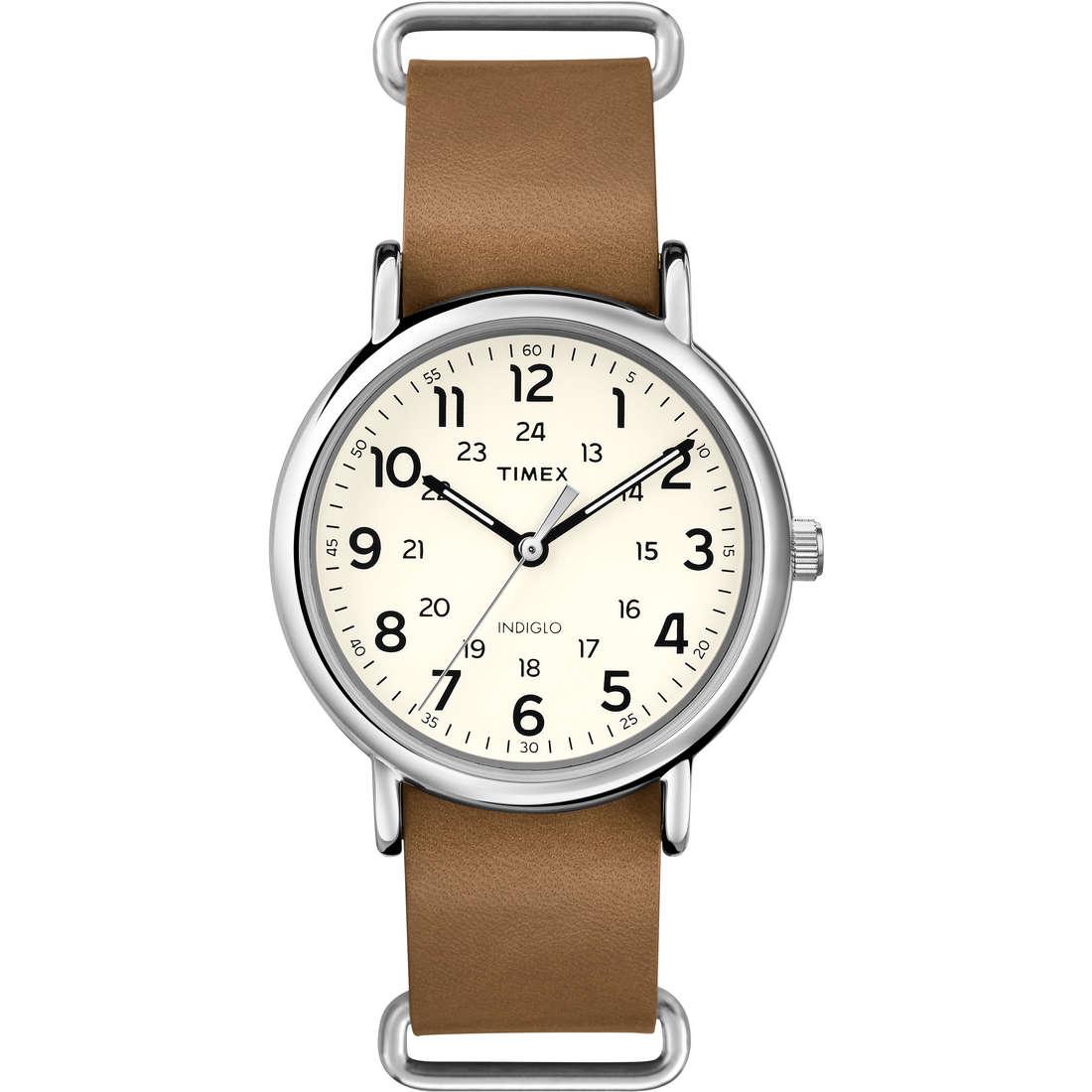 orologio solo tempo uomo Timex Weekender T2P492