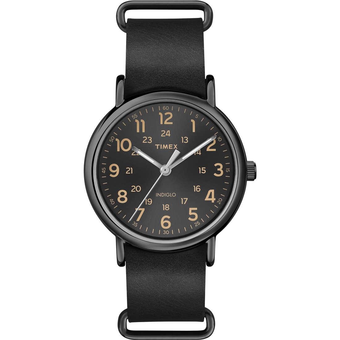orologio solo tempo uomo Timex Weekender T2P494