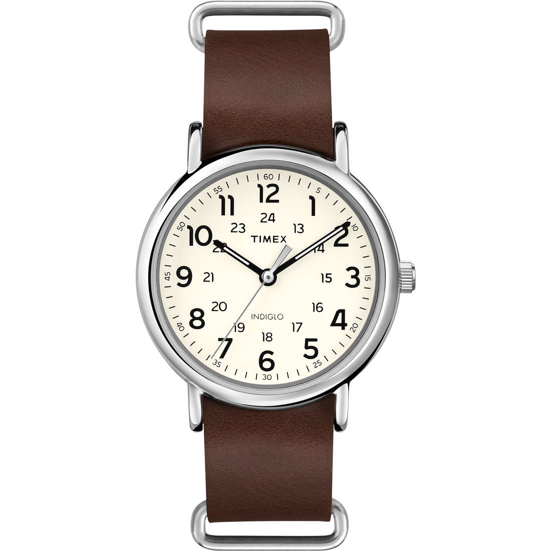 orologio solo tempo uomo Timex Weekender T2P495