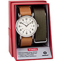 orologio solo tempo uomo Timex Weekender TWG015100