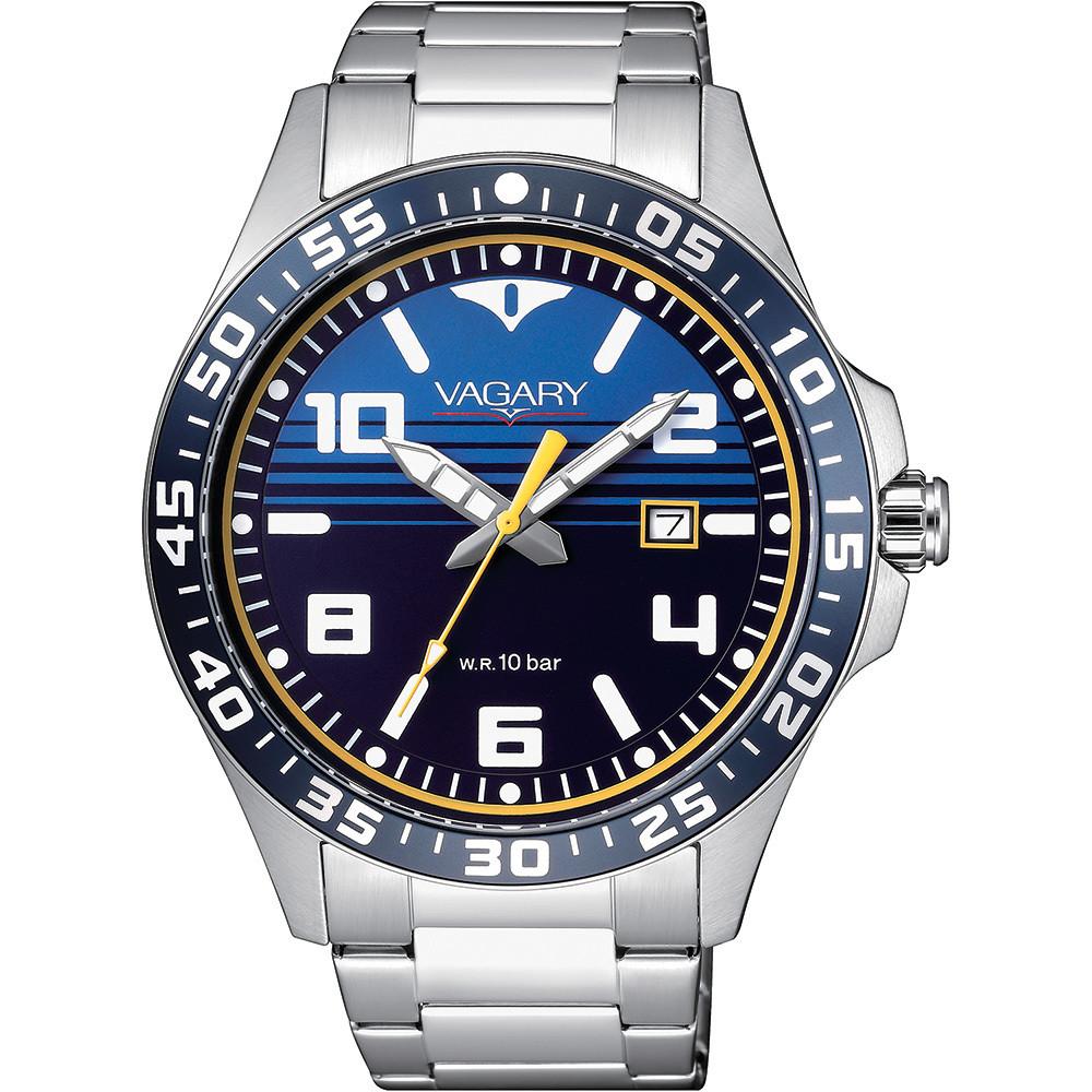 orologio solo tempo uomo Vagary By Citizen Aqua 39 IB7-317-71
