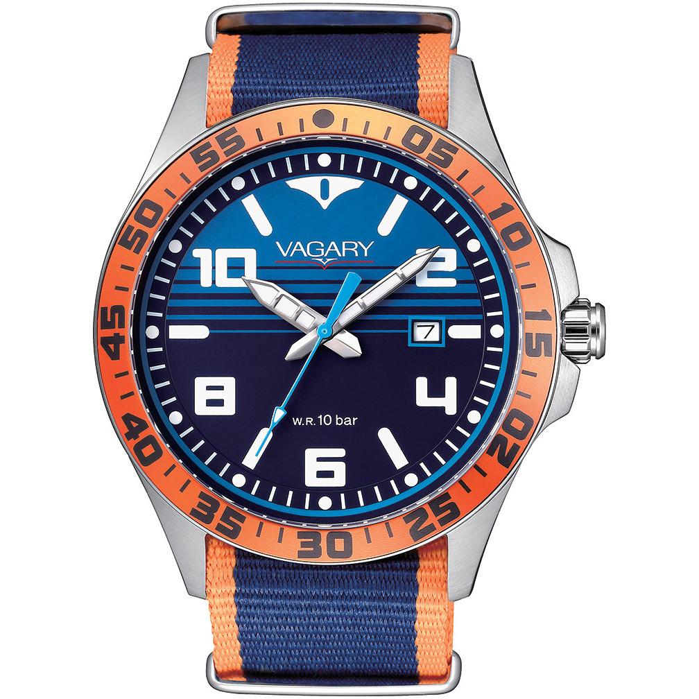 orologio solo tempo uomo Vagary By Citizen Aqua 39 IB7-317-72