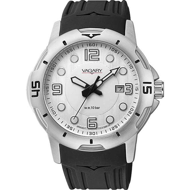 orologio solo tempo uomo Vagary By Citizen IB6-019-10