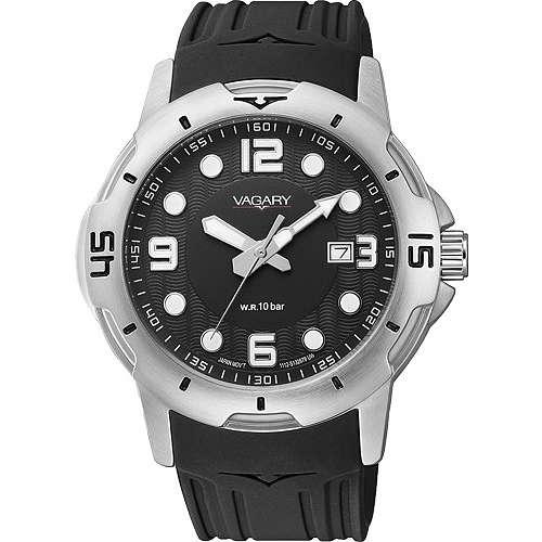orologio solo tempo uomo Vagary By Citizen IB6-019-50