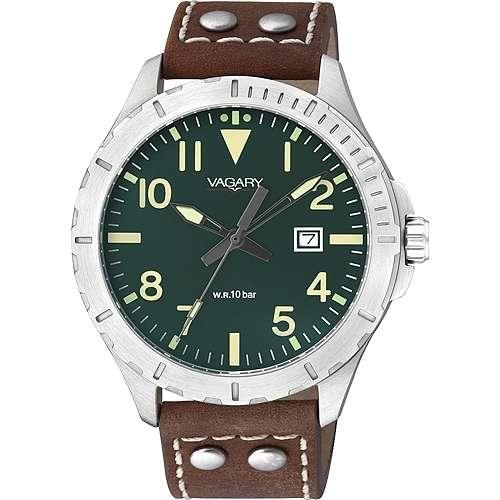 orologio solo tempo uomo Vagary By Citizen IB6-116-40