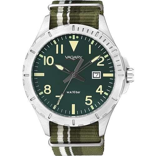 orologio solo tempo uomo Vagary By Citizen IB6-116-42
